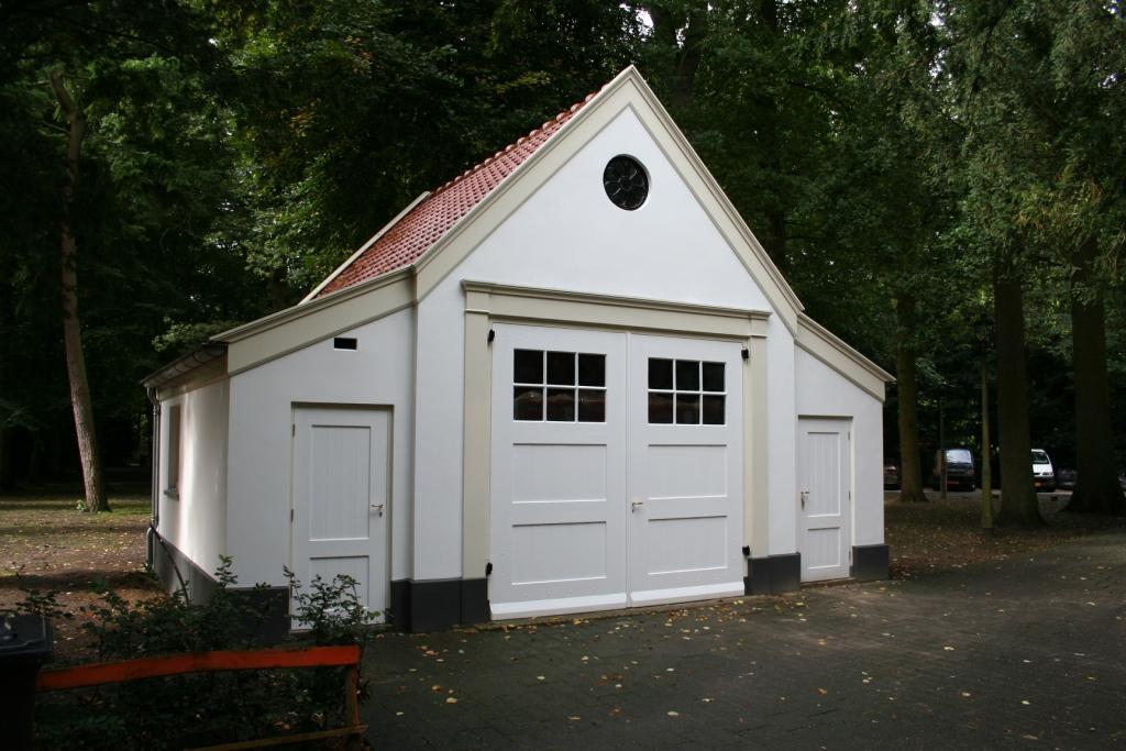 12. garage na uitvoering